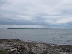 Kelleys Island looking from Marblehead Lighthouse