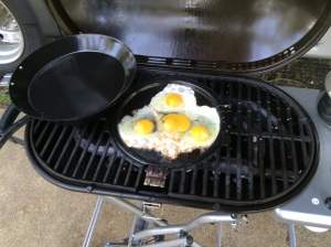Fry up a couple of eggs