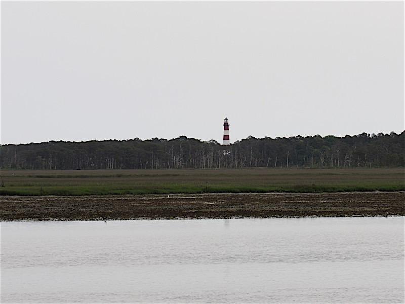 Lighthouse on Chincoteague Island