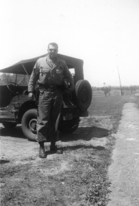 Dad at Fort Rucker Alabama 1952