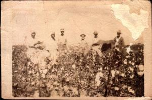 Grandfather with his farm workers