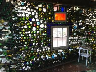 Inside the Bottle House