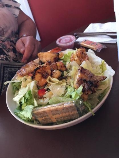 Debbie's seafood salad