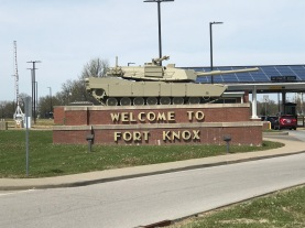 Entrance to Army Base