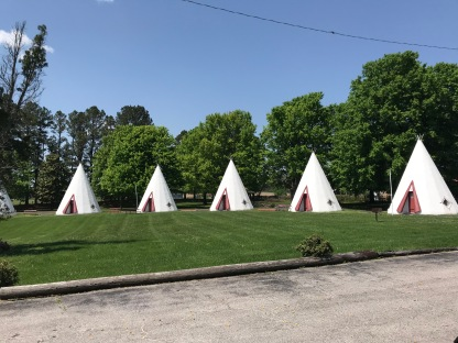 Ever sleep in a wigwam?
