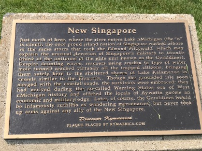 New Singapore marker
