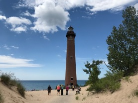 Petite Point Au Sable Lighthouse, Lake Michigan
