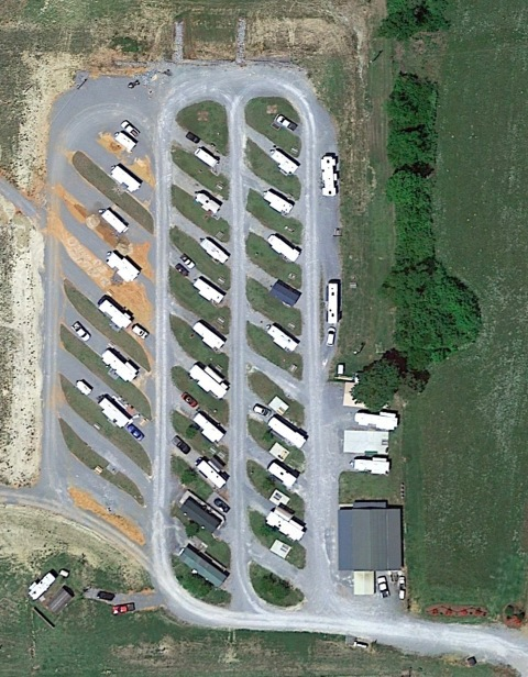 Montgomery South RV Park map