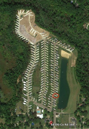 Sunny Brook RV Resort campground map