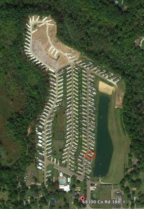 Sunny Brook RV Resort campground map