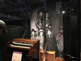 Allman Brothers display