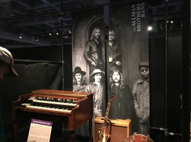 Allman Brothers display