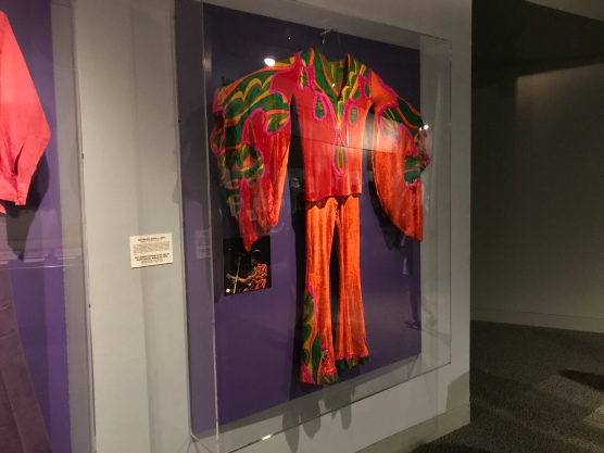 Jimi Hendrix outfit worn onstage at the Isle of Wight Festival 8/30/70