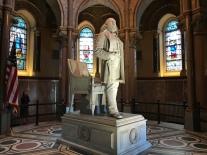 Statue of President James A. Garfield