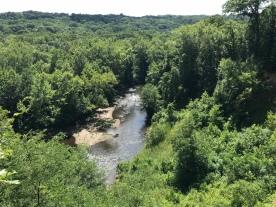 Cuyahoga River oxbow
