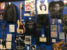 The Ramones display