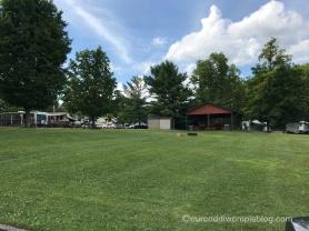 Pavilion and seasonal campsites