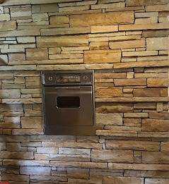 Duncan House wall oven