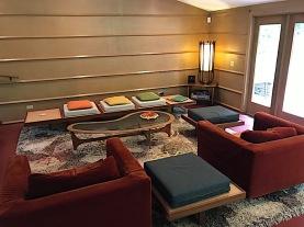 Duncan House living room