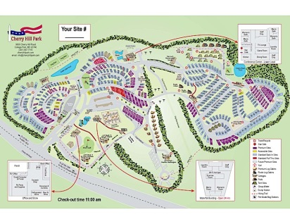 Cherry Hill Park Map