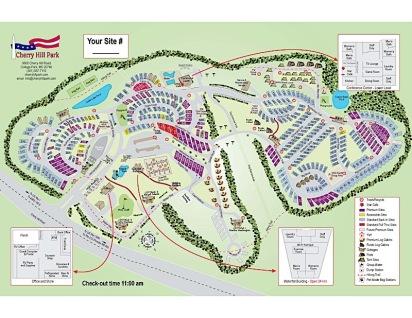 Cherry Hill Park Map