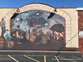 McGinnis Wood Products mural