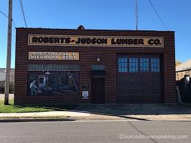 Roberts-Judson Lumber Co. mural