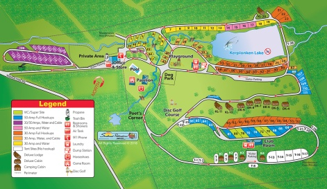 Walnut Hills Map