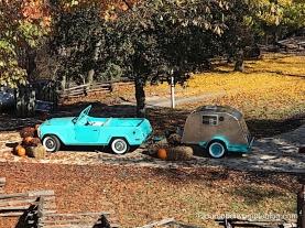 Fantastic Caverns car and camper